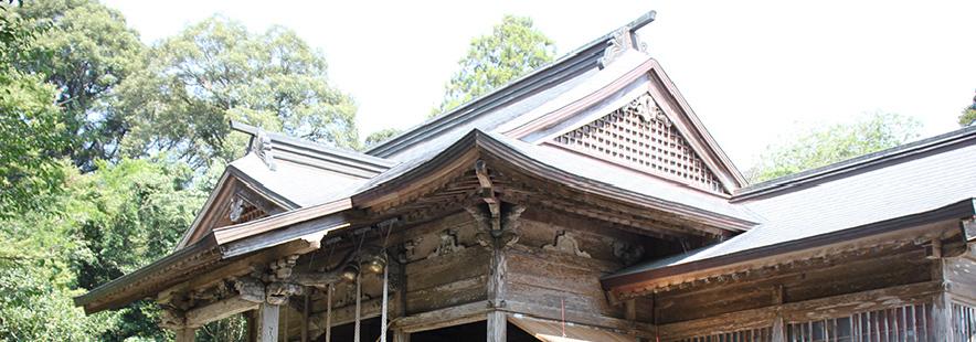 東霧島神社社殿