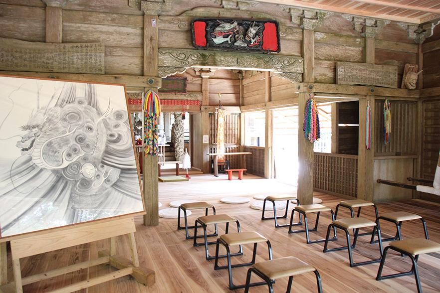 東霧島神社拝殿